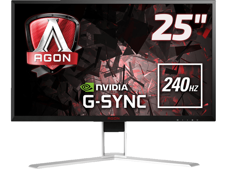 AOC  AGON AG251FG Full-HD Gaming Monitor (1 ms Reaktionszeit, G-SYNC, 240 Hz) | 04038986165983