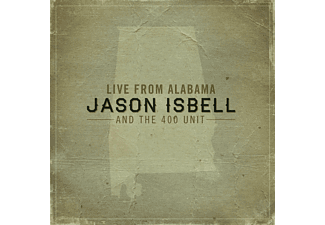 Jason And The 400 Unit Isbell - Live From Alabama - (LP + Download)