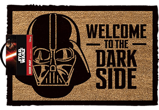 EMPIRE Star Wars Fussmatte Kokos Motiv Welcome to the dark side Fussmatte, Mehrfarbig