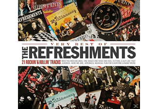 The Refreshments - Veryvery Best Of The Refreshments - 21 Rockin' & Rollin' Tracks - (CD)