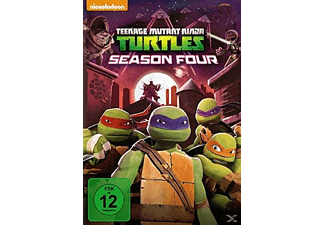 TEENAGE MUTANT NINJA TURTLES - 4. STAFFEL - (DVD)