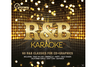 VARIOUS - R&B Karaoke - (CD)