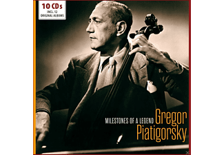 Gregor Piatigorsky, VARIOUS - Original Recordings - (CD)