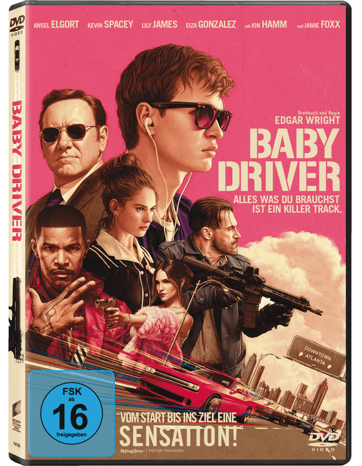 Baby Driver - (DVD)