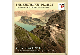 Oliver Schnyder, Luzerner Sinfonieorchester - The Beethoven Project-The Piano Concerts & Overt - (CD)