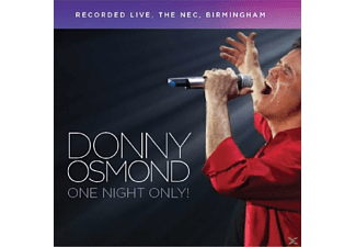 Johnny Osmond - One Night Only [CD]