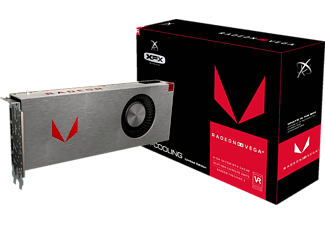 XFX Radeon RX VEGA 64 Silver Single Fan 8GB (RX-VEGMTSFX6)( AMD, Grafikkarte)