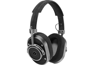 MASTER & DYNAMIC MH40, Over-ear Kopfhörer, Headsetfunktion, Alcantara/Gunmetal