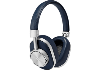 MASTER & DYNAMIC MW60, Over-ear Kopfhörer, Bluetooth, Navy/Silber