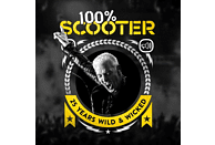 Scooter - 100% Scooter - 25 Years Wild & Wicked (Ltd.Deluxe Box) [CD]