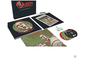 Queen - News Of The World (Ltd.3CD+DVD+LP Super DLX) - (CD + DVD Video)