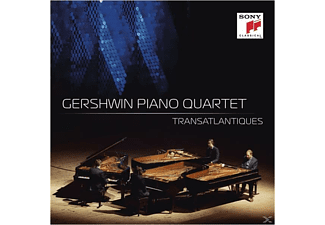 The Gershwin Piano Quartet - Transatlantiques-Nussknacker Suite/Leutnant Kijé/+ - (CD)