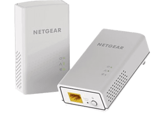 NETGEAR Powerline PL1000 - Adattatore Powerline (Bianco)