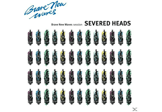 Severed Heads - Brave New Waves Session (Blue Vinyl) - (Vinyl)