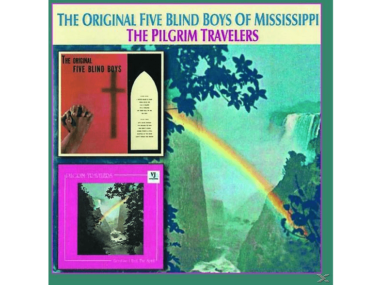Original Five Blind Boys - Original Five Blind Boys/Pilgrim Travelers [CD]