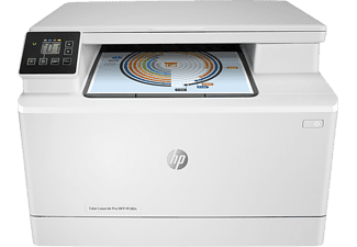 HP Color Pro MFP M180n, 3-in-1 Multifunktionsdrucker, Weiß