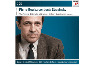 Pierre Boulez - Conducts Stravinsky (CD)