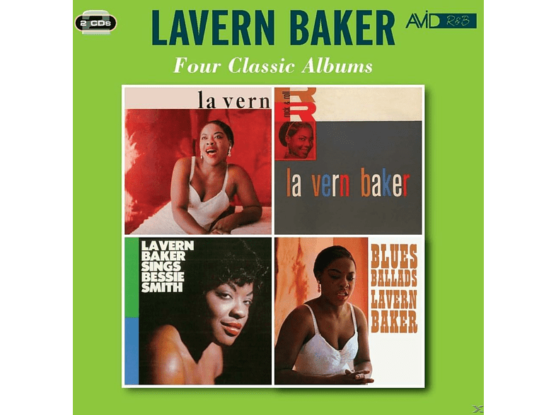 LaVern Baker - Four Classic Albums [CD]