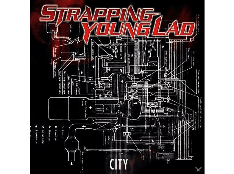 Strapping Young Lad - City (Vinyl LP) [Vinyl]