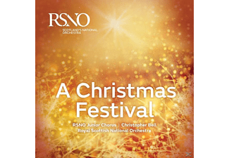 Royal Scottish National Orchestra, Royal Scottish National Orchestra Junior Chorus - A Christmas Festival - (CD)