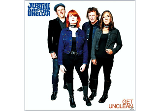 Justine And The Unclean - Get Unclean - (CD)