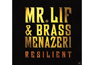 MR. LIF & BRASS MENAZERI - Resilient - (CD)