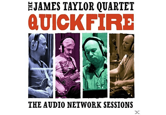 The James Taylor Quartet - Quick Fire-The Audio Network Sessions - (CD)
