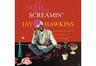 Screamin' Jay Hawkins - At Home With - (Vinyl)