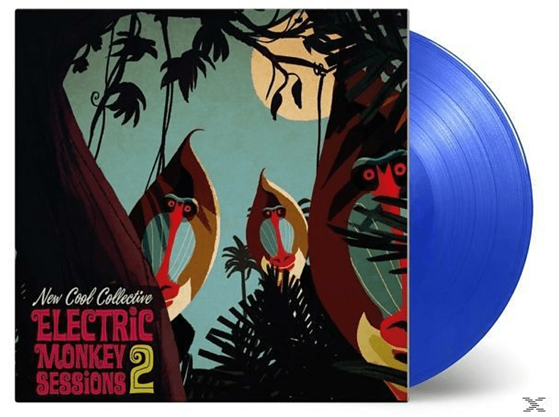 New Cool Collective - Electric Monkey Sessions 2 (LTD Blue Vinyl) [Vinyl]