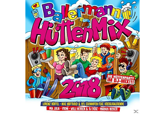 VARIOUS - Ballermann Hütten Mix 2018 - (CD)