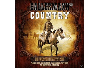 VARIOUS - Ballermann Country Die Westernparty 2018 - (CD)