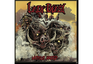 Lady Beast - Vicious Breed - (CD)