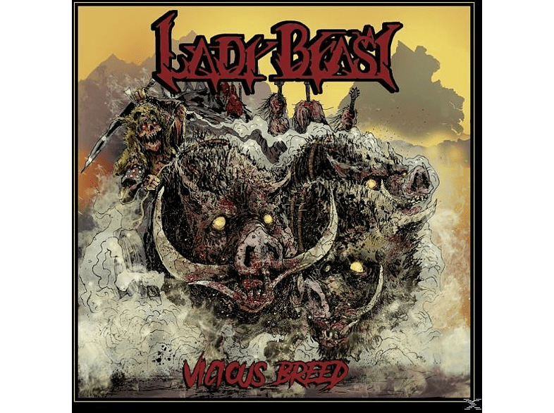 Lady Beast - Vicious Breed [CD]
