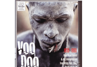 VARIOUS - Voodoo-Rare Ritual Sounds & Jazz Interpretations - (CD)