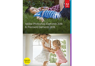 Adobe Photoshop Elements 2018 + Premiere 2018 Upgrade