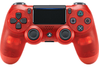 SONY DUALSHOCK4 Wireless-Controller} Red Crystal