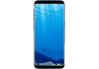 SAMSUNG Galaxy S8, Smartphone, 64 GB, 5.8 Zoll, Coral Blue