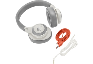 JBL E65BTNC, Over-ear Kopfhörer, Headsetfunktion, Bluetooth, Weiß