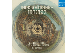 La Folia Barockorchester, Robin Peter Müller - Anonymus-Rediscovered Treasures from Dresden - (CD)