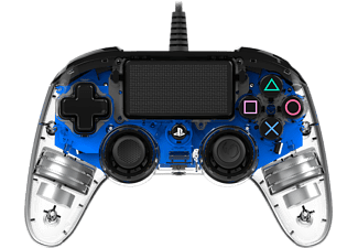 NACON Illuminated Compact Controller bedraad PS4 Blauw (PS4OFCPADCLBLUE)