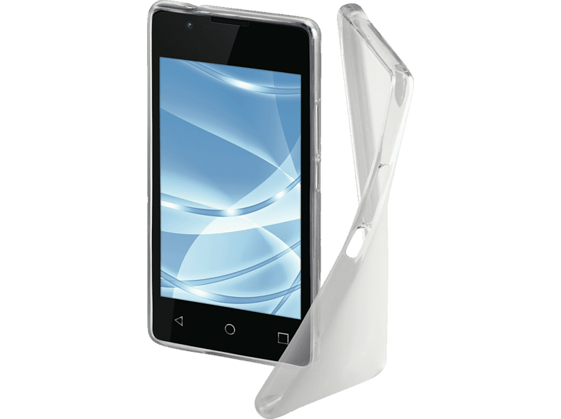 HAMA Crystal Backcover Wiko Sunny 2 Thermoplastisches Polyurethan Transparent