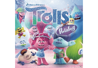 VARIOUS - TROLLS Holiday - (Maxi Single CD)
