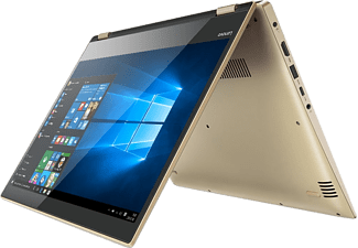 "LENOVO Yoga 520 arany 2in1 eszköz 80X800B6HV (14"" Full HD IPS touch/Core i3/4GB/500GB HDD/Windows 10)"