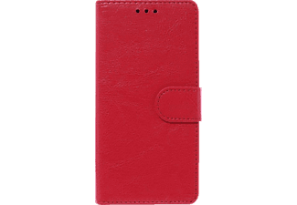 V-2-1 006 Bookcover Apple P9 Lite Kunstleder Rot