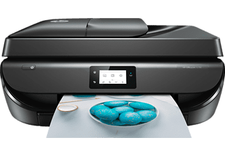 HP OfficeJet 5230, 4-in-1 Multifunktionsdrucker, Schwarz