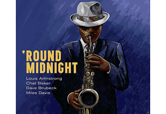 Louis Armstrong, Chet Baker, Dave Brubeck, Miles Davis - Round Midnight - (CD)