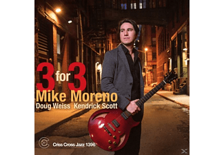 Mike Moreno, Kendrick Scott, Doug Weiss - Three For Three - (CD)