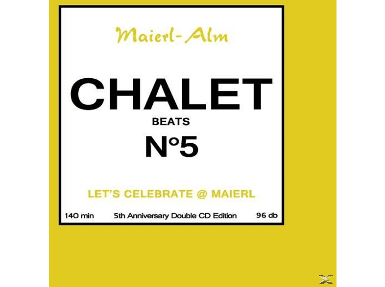 VARIOUS - Chalet Beats No.5 (5th Anniversary) [CD]