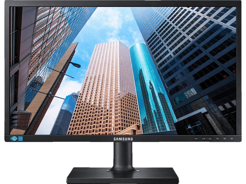 SAMSUNG S24E450BL LED  Full-HD Monitor (5 ms Reaktionszeit, 60 Hz)