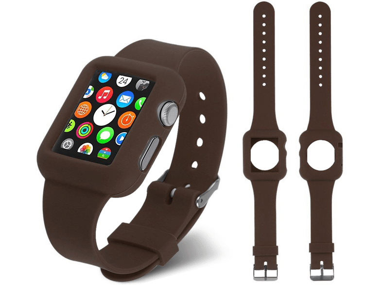4YOUR WATCH Cover Silicon Case Band Apple Watch Bruin (4YW-CB38BR)